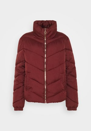 Winter jacket - madder brown