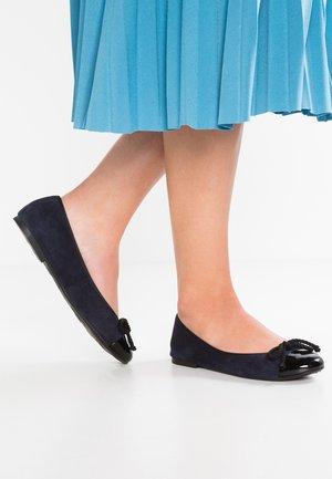 Ballet pumps - black/navy blue