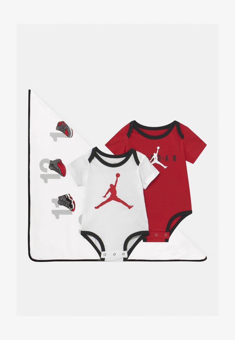 Jordan - MILESTONE BLANKET BOX SET UNISEX - Cadeau de naissance - white