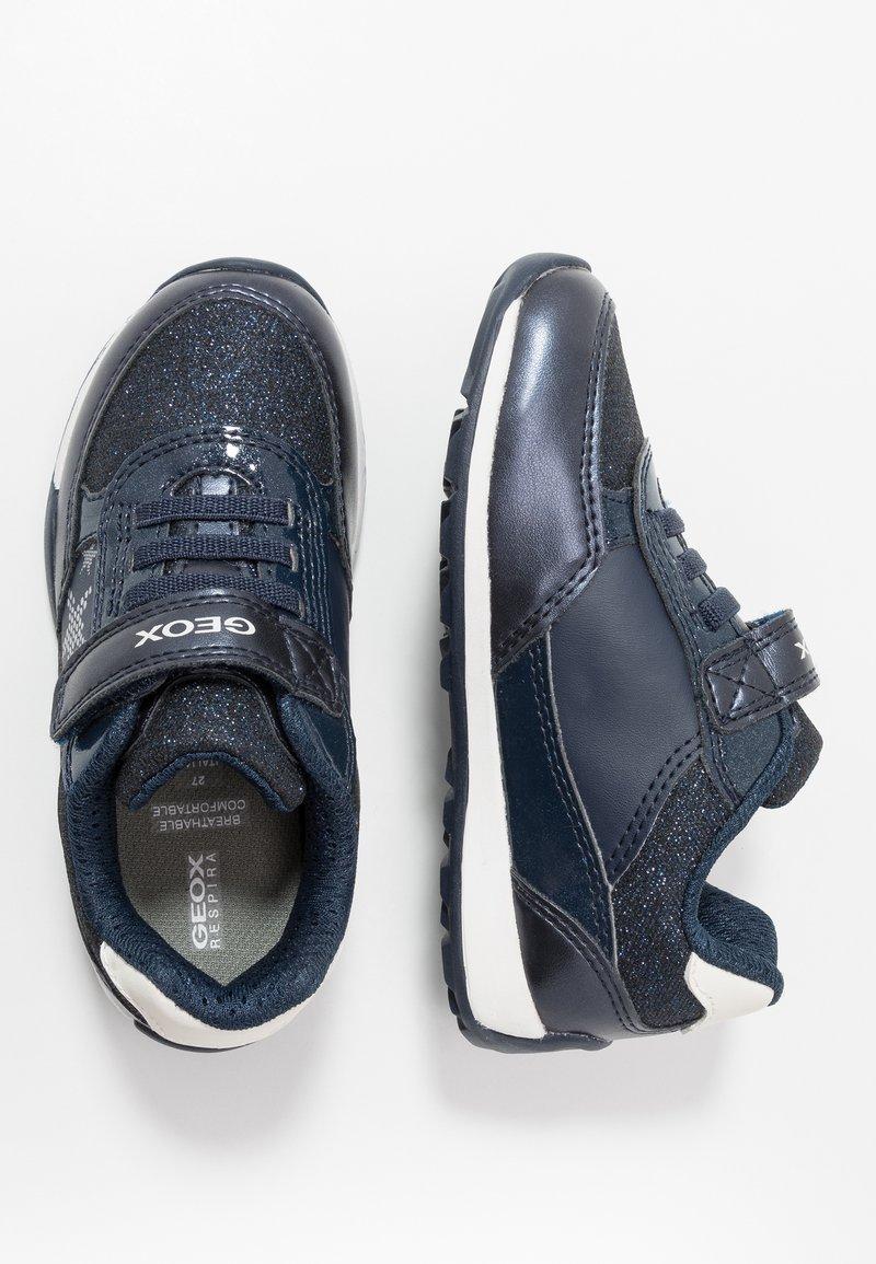 partes Infrarrojo Soleado  Geox JOCKER PLUS GIRL - Sneakers basse - navy/silver/blu scuro - Zalando.it