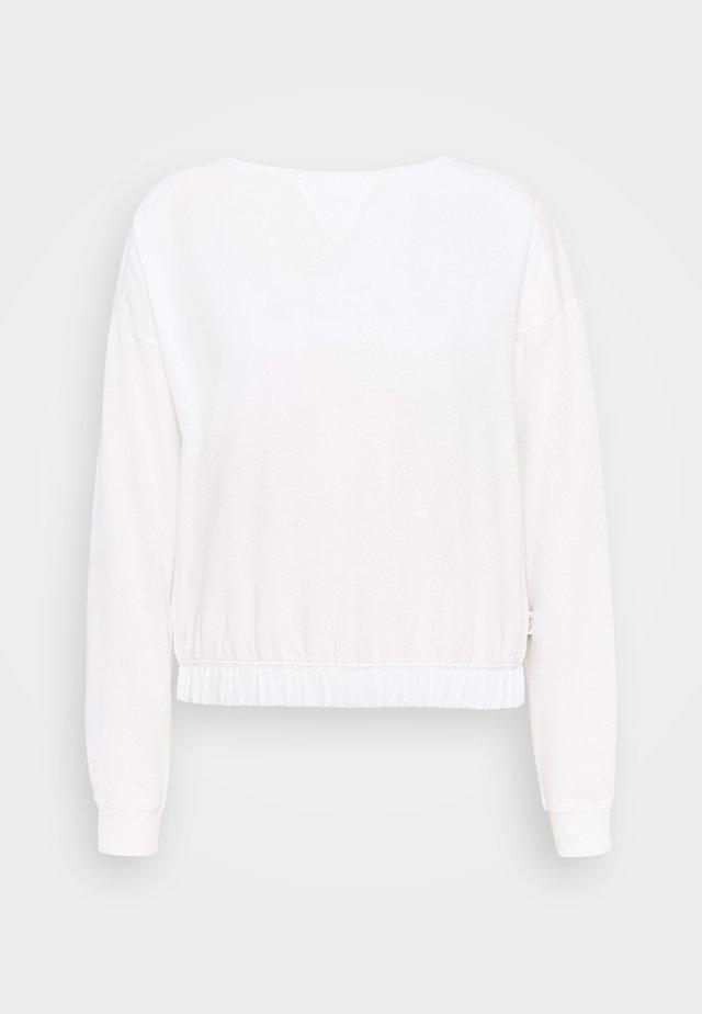 LONGSLEEVE ROUNDNECK - Pitkähihainen paita - scandinavian white