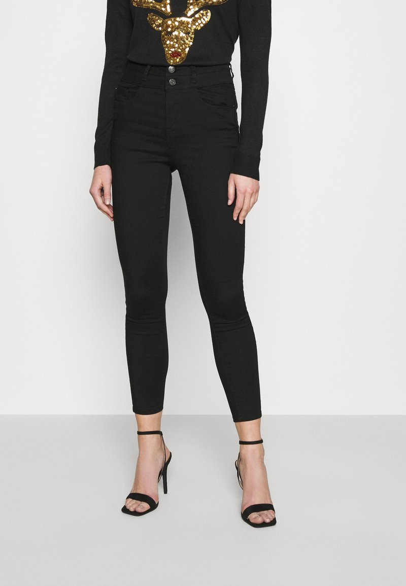 New Look - LIFT AND SHAPE HIGHWAIST - Jeans Skinny Fit - black