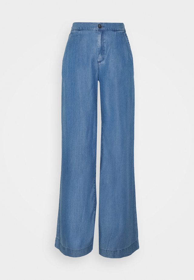 COO PALAZZO - Relaxed fit jeans - blue light wash