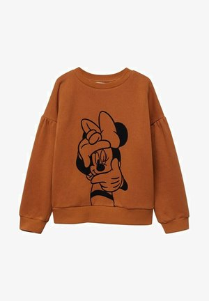 MINNIE MOUSE - Sweatshirt - ocre