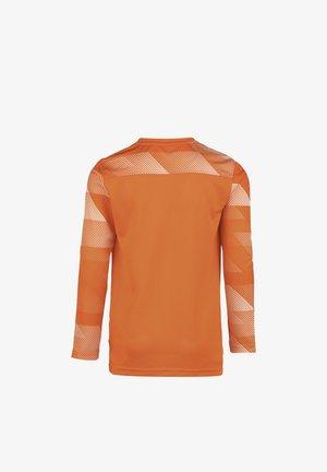 PARK IV - Sports shirt - safety orange / white / black