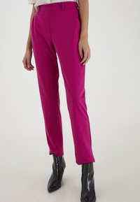 ICHI - IXKATE - Trousers - fuchsia red - 1