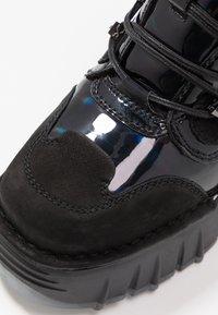 Bronx - MOON WALKK - High-top trainers - black - 2