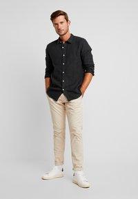 Pier One - Shirt - black - 1
