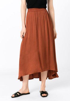 Maxi skirt - copper