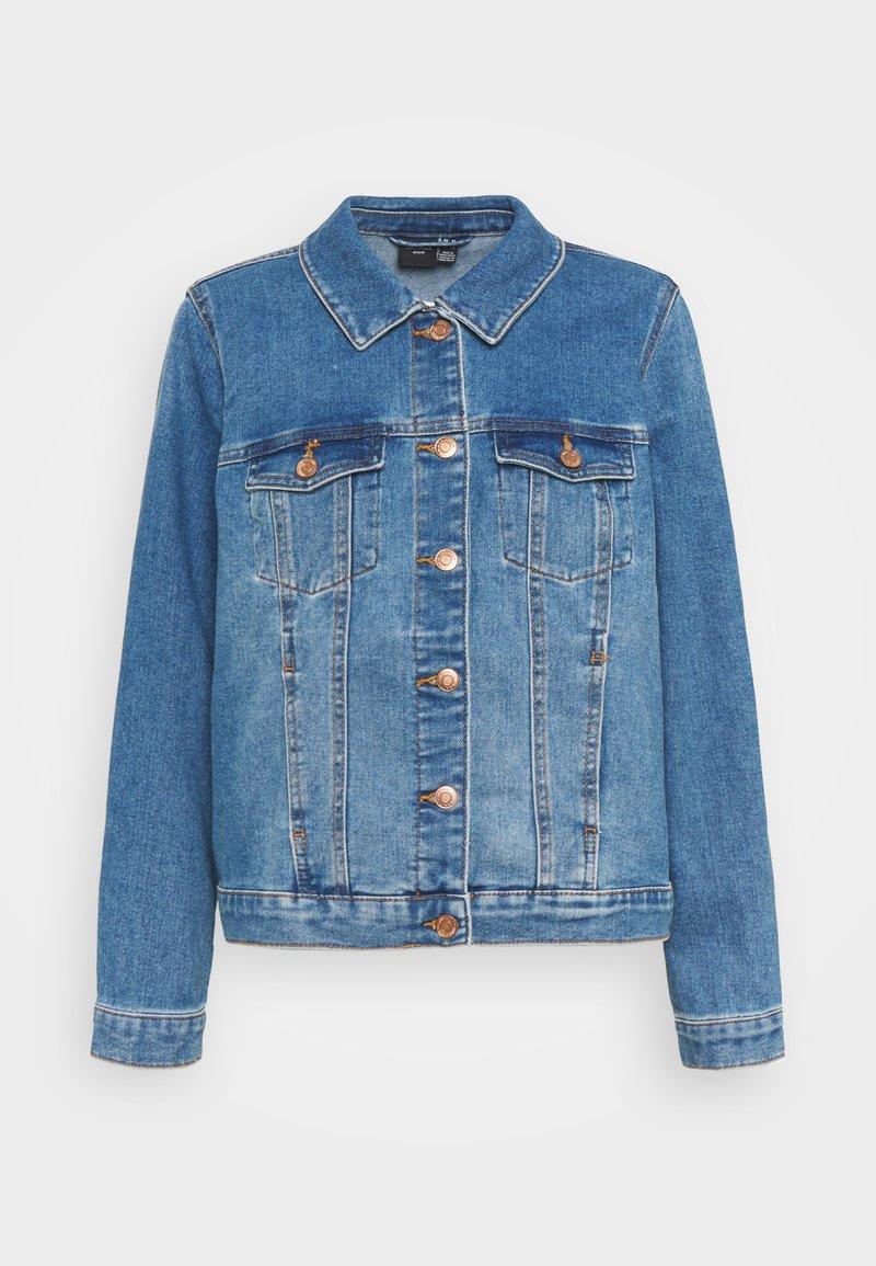 Vero Moda Curve - VMFAITH JACKET - Denim jacket - medium blue denim