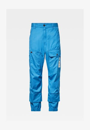 TAPARED CARGO - Cargo trousers - river blue