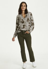 Kaffe - PAISLEY BLOUSE - Blouse - grape leaf paisley print - 1