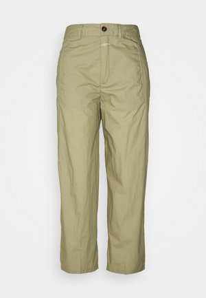 LUDWIG - Trousers - green bark