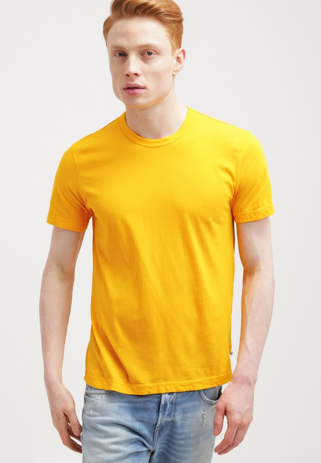 CREW - Basic T-shirt - yellow