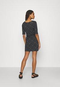 Ragwear - TAMY - Žerzejové šaty - dark grey - 2