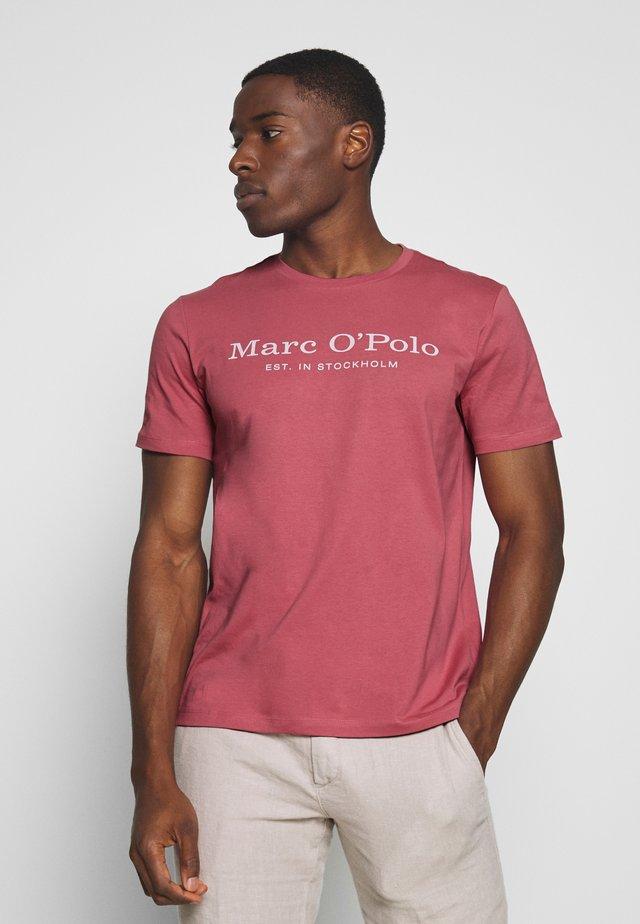 SHORT SLEEVE ROUND NECK - T-shirts print - baroque rose