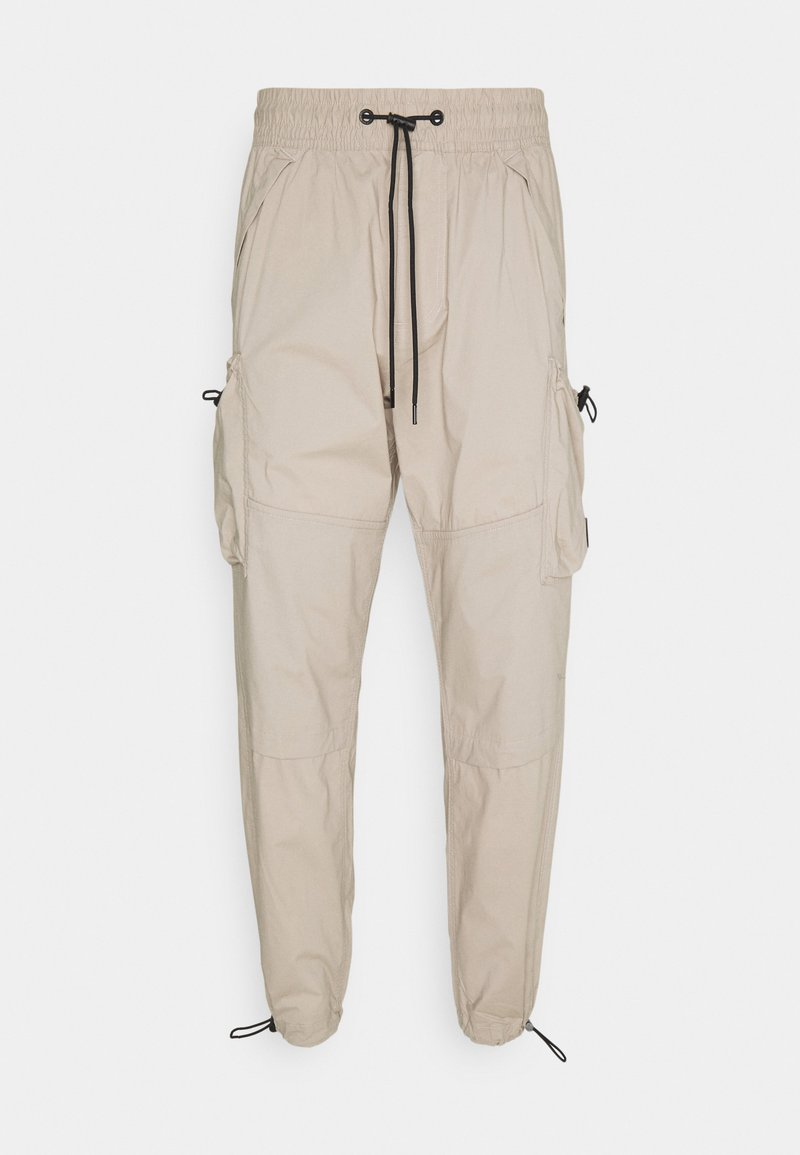 Calvin Klein Jeans - LIGHTWEIGHT  - Cargo trousers - taupe