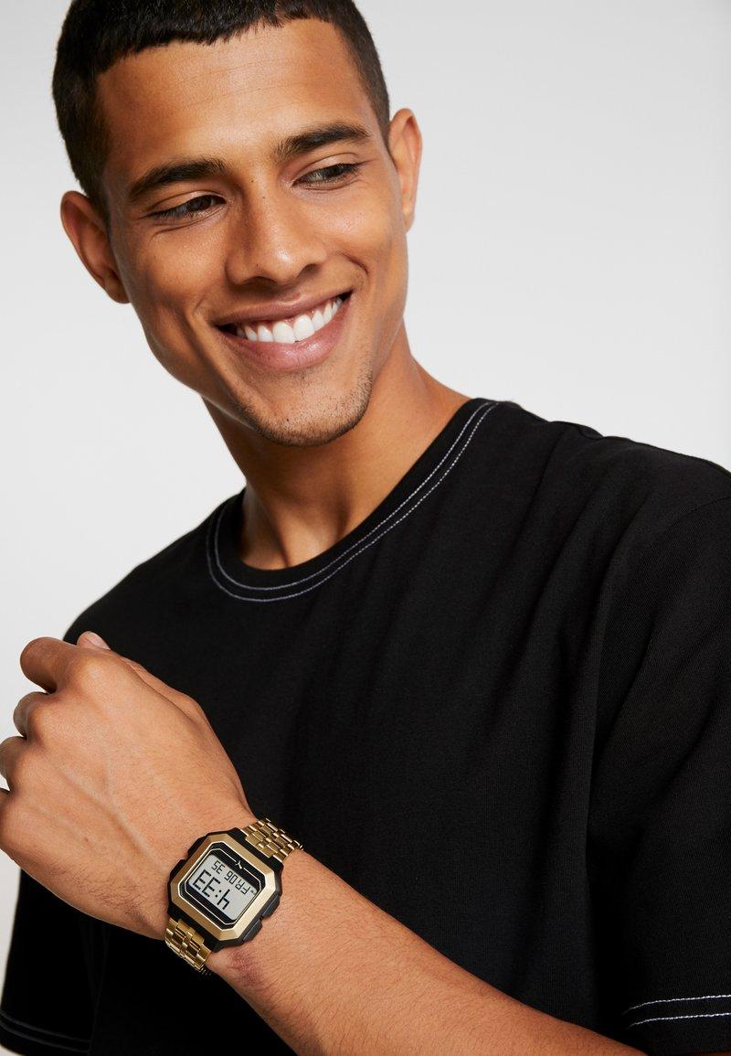 Puma - REMIX - Digital watch - gold-coloured