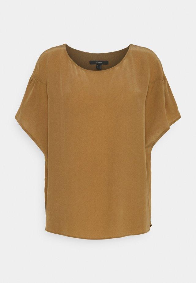 T-shirt basic - bark