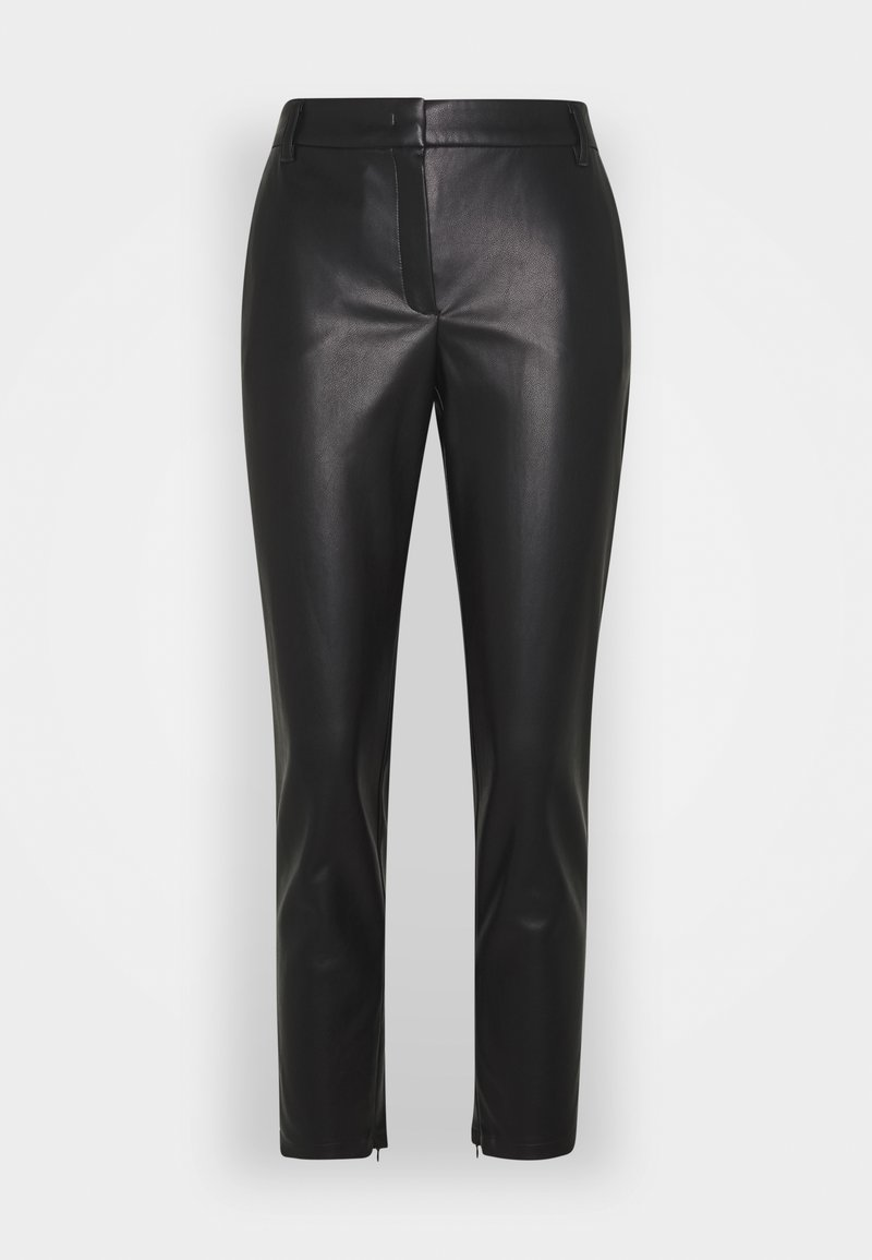 Betty & Co - Leather trousers - black