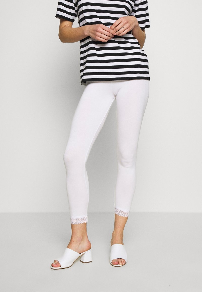 Kaffe - SVALA - Leggings - optical white