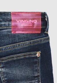 Vingino - DONYA - Džínové kraťasy - blue vintage - 3