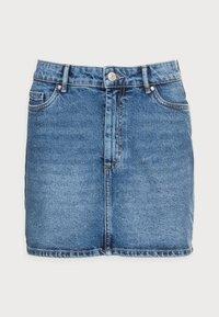 ONLY Petite - ONLROSE LIFE ASHAPE - Mini skirt - medium blue denim - 3