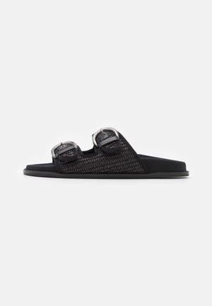 ALGEBRA - Pantofle - schwarz