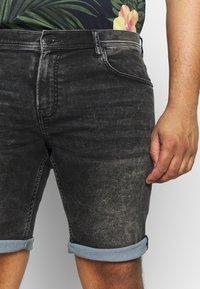 Shine Original - Denim shorts - black mud - 4