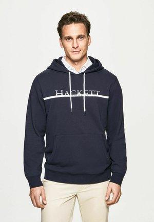 Hoodie - dk navy