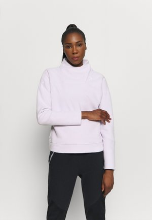 RECOVER WRAP NECK - Fleecepullover - crystal lilac