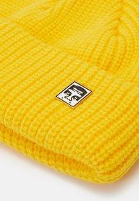 Obey Clothing - MICRO BEANIE UNISEX - Beanie - sulpur yellow - 3
