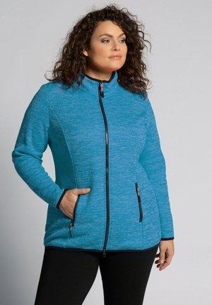 Fleece jacket - tahiti blauw