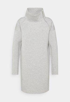 MODERN KNIT - Day dress - pearl grey heather