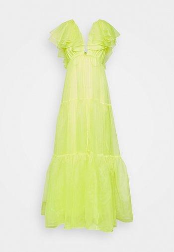 CHRISHELLE DRESS - Ballkjole - acid yellow