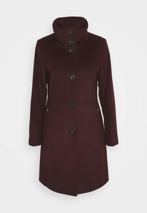 BASIC COAT - Kåpe / frakk - bordeaux red