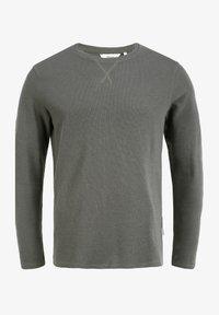 Solid - UPANO - Long sleeved top - castlerock - 5