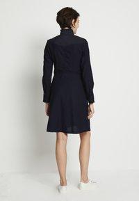 G-Star - WESTERN SLIM FRILL DRESS - Shirt dress - rinsed - 2