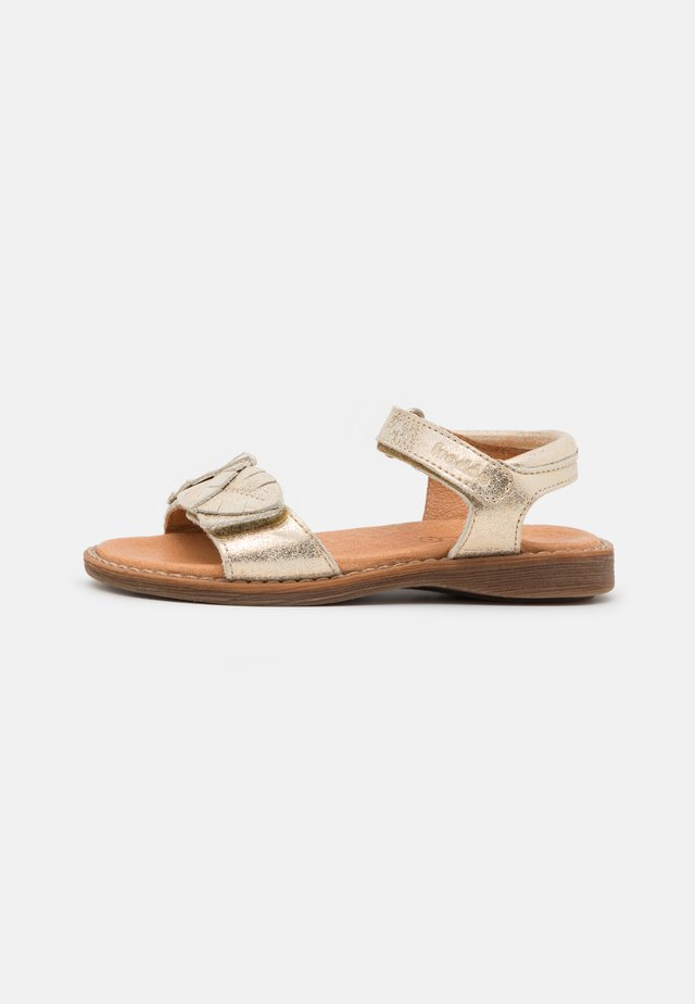 LORE LEAVES - Sandals - gold