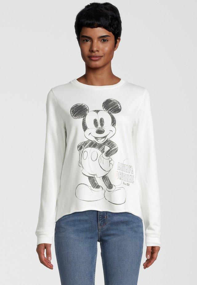 Disney Mickey Mouse - Felpa - offwhite