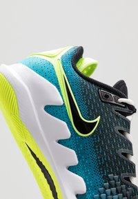 Nike Performance - AIR ZOOM VAPOR X - Chaussures de tennis toutes surfaces - neo turquoise/black/green/hot lime - 5