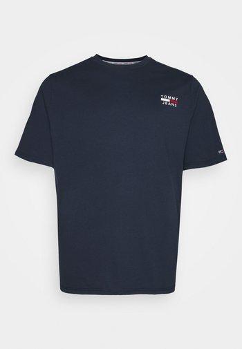 CHEST LOGO TEE - T-shirt - bas - twilight navy