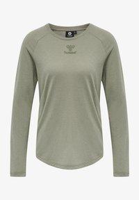 Hummel - VANJA  - Long sleeved top - vetiver - 4