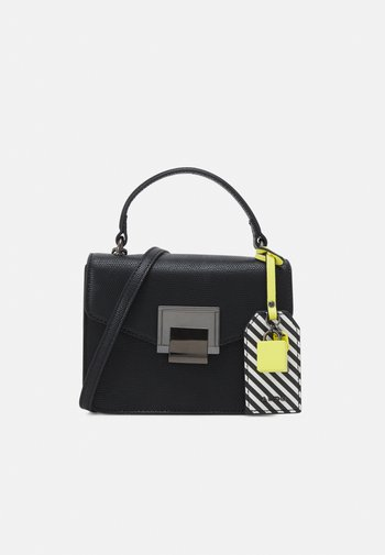 BUGSY - Handbag - jet black/gunmetal