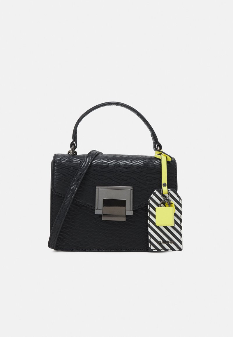 ALDO - BUGSY - Handbag - jet black/gunmetal