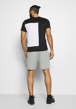 SUPERSET  - Print T-shirt - black/white
