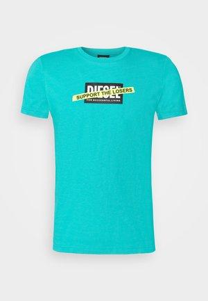 T-DIEGOS-A3 MAGLIETTA - Print T-shirt - turquoise