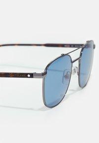 Mont Blanc - Sunglasses - ruthenium/havana/blue - 5
