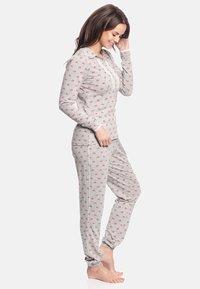 Vive Maria - WINTER TALE  - Pyjama set - grau meliert allover - 2