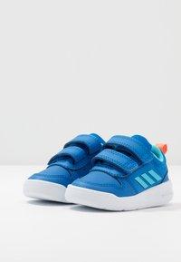 adidas Performance - TENSAUR UNISEX - Sports shoes - glow blue/bright cyan - 3